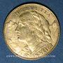 Monnaies Suisse. 10 francs 1912B. (PTL 900‰. 3,22 g)