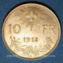 Monnaies Suisse. 10 francs 1913 B. (PTL 900‰. 3,22 g)