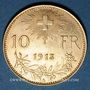 Monnaies Suisse. 10 francs 1913B. (PTL 900‰. 3,22 g)