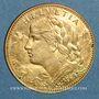 Monnaies Suisse. 10 francs 1914 B. (PTL 900‰. 3,22 g)