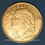 Monnaies Suisse. 10 francs 1922B. (PTL 900‰. 3,22 g)