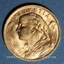 Monnaies Suisse. Confédération. 20 francs 1935B. 900 /1000. 6,45 gr