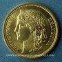Monnaies Suisse. Confédération. 20 francs Helvetia 1883 B. (PTL 900‰. 6,45 g)