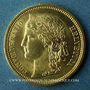 Monnaies Suisse. Confédération. 20 francs Helvetia 1883B. (PTL 900‰. 6,45 g)