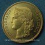 Monnaies Suisse. Confédération. 20 francs Helvetia 1889 A. (PTL 900‰. 6,45 g)