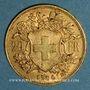 Monnaies Suisse. Confédération. 20 francs Vreneli 1900 B. (PTL 900‰. 6,45 g)