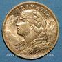 Monnaies Suisse. Confédération. 20 francs Vreneli 1900B. (PTL 900‰. 6,45 g)