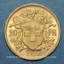 Monnaies Suisse. Confédération. 20 francs Vreneli 1913B. (PTL 900‰. 6,45 g)