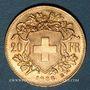 Monnaies Suisse. Confédération. 20 francs Vreneli 1935 B. (PTL 900‰. 6,45 g)