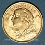 Monnaies Suisse. Confédération. 20 francs Vreneli 1935LB. 900 /1000. 6,45 gr