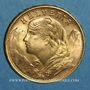Monnaies Suisse. Confédération. 20 francs Vreneli 1949 B. (PTL 900‰. 6,45 g)