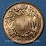 Monnaies Suisse. Confédération. 20 francs Vreneli 1949B. (PTL 900‰. 6,45 g)