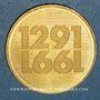 Monnaies Suisse. Confédération. 250 francs 1991B. (PTL 900‰. 8 g)
