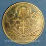 Monnaies Tchad. République. 10 000 francs 1960/70. Général de Gaulle