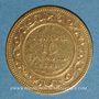 Monnaies Tunisie. Ali III, bey (1299-1320H = 1882-1902). 10 francs 1891 A. (PTL 900‰. 3,22 g)