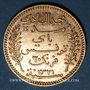 Monnaies Tunisie. Mohammed El Hadi, bey (1320-1324H = 1902-1906). 20 francs 1321H / 1903A. (PTL 900‰. 6,45 g)