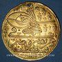 Monnaies Turquie. Ahmed III (1115-43H = 1703-1730). 5 ashrafi 1115H (= 1703). Constantinople
