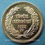Monnaies Turquie. République. 100 qurush (piastres) 1923/81. (PTL 917‰. 7,216 g)