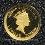 Monnaies Tuvalu. Elisabeth II (1952 -/). 1 dollar 2010 (PTL 999‰. 0,5 g)