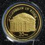 Monnaies Vanuatu. République. 20 vatu  2009 (PTL 999‰. 0,5 g)