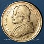Monnaies Vatican. Pie IX (1846-1878). 20 lires 1867 an XXII R. Rome. (PTL 900‰. 6,45 g)
