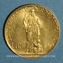 Monnaies Vatican. Pie XI (1922-1939). 100 lires 1932, an XI. (PTL 900‰. 8,80 g)