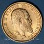 Monnaies Wurtemberg. Guillaume II (1891-1918). 20 mark 1894 F. (PTL 900‰. 7,96 g)