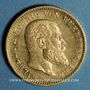 Monnaies Wurtemberg. Guillaume II (1891-1918). 20 mark 1894F. (PTL 900/1000. 7,96 g)
