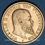 Monnaies Wurtemberg. Guillaume II (1891-1918). 20 mark 1897F. (PTL 900/1000. 7,96 g)