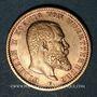 Monnaies Wurtemberg. Guillaume II (1891-1918). 20 mark 1900 F. (PTL 900‰. 7,96 g)