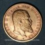 Monnaies Wurtemberg. Guillaume II (1891-1918). 20 mark 1900F. (PTL 900/1000. 7,96 g)