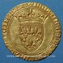 Monnaies Comté de Provence. Louis II (1384-1417). Ecu d'or, Avignon (?) avant 1388