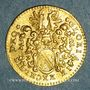 Monnaies Strasbourg. Ducat. 17e siècle.