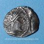 Monnaies Allobroges (région du Dauphiné) - Ambilli Eburo (fin du 2e s. et 1er tiers du 1er s. av J-C). Denier