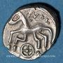 Monnaies Allobroges (région du Dauphiné) - Vol (fin du 2e siècle et 1er tiers du 1er siècle av. J-C). Denier