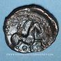 Monnaies Ambiani. Région d'Amiens. Bronze au sanglier et au cheval, vers 60 - 30/25 av. J-C