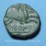 Monnaies Ambiani (région d'Amiens). Imono (vers 60 à 30 / 25 av. J-C). Bronze