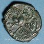 Monnaies Ambiani (région d'Amiens). (vers 60-25 av. J-C). Bronze au coq, dit au type de Lewarde