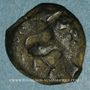 Monnaies Arvernes. Auvergne - Eppos. Bronze, 1er siècle av. J-C