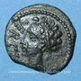 Monnaies Arvernes (région de l'Auvergne) - Verca (2e moitié du 1er siècle av. J-C). Bronze