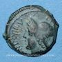 Monnaies Atrébates (région d'Arras) - Andobru (51-48 av. J-C). Bronze, classe I var 4