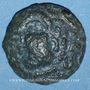 Monnaies Aulerques Eburovices. Région d'Evreux. Bronze, 2e moitié du 1er siècle av. J.-C