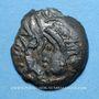 Monnaies Aulerques Eburovices. Région d'Evreux. Duniccos. Bronze, classe II, 2e moitié du 1er s av. J.-C