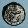 Monnaies Aulerques Eburovices. Région d'Evreux. Ebvrovicos - Avlirco. Bronze, vers 50-40 av. J-C