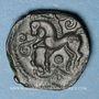 Monnaies Aulerques Eburovices (région d'Evreux). Epu (vers 50-30/25 av. J-C). Bronze