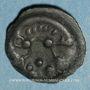 Monnaies Aulerques Eburovices. Région d'Evreux. Potin au sanglier, vers 60-30/25 av. J-C