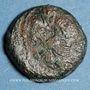 Monnaies Bituriges Cubi (région de Bourges). Caliageis (1er siècle av. J-c). Bronze