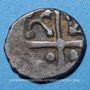 Monnaies Cadurques (région de Cahors). Hémidrachme d'argent du type Cuzance
