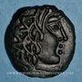 Monnaies Carnutes. Région de Chartres. Bronze à l'aigle et à l'aiglon, 2e moitié du 1er siècle av. J-C