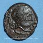 Monnaies Carnutes. Région de Chartres. Catal. Bronze classe I, après 52 av. J-C